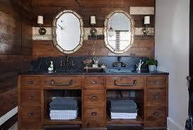 Distressed Wood Bathroom Vanity The Elegant In Addition To Stunning Distressed Wood Vanity
