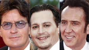 from johnny depp to nicolas cage hollywood s biggest stars