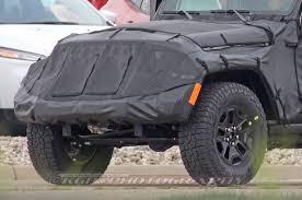 jeep wrangler pickup spy shots of 2018 jeep wrangler jl show new led taillight pattern