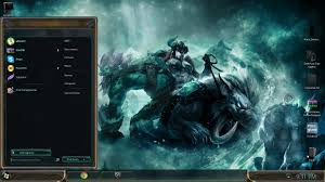 space themes for windows 8 1 league of legends theme for windows 7 super amazing youtube