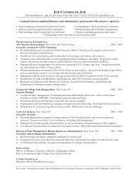 Job Resume Templates 100 Resume Templates Skills List Sample Resume Hospitality
