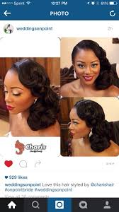 cute pin up hairstyles for black women 11 cute romantic hairstyle ideas for wedding african american