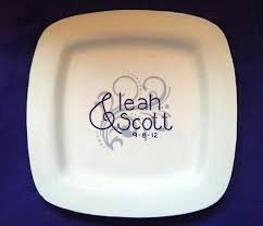 wedding signing plate 18 best wedding ideas images on painted pottery