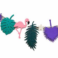 aliexpress com buy flamingos non wove fabrics party decoration