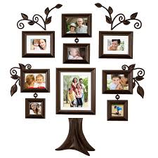 home decor picture frames amazon com family tree 9 piece family tree collection picture
