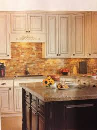 faux brick backsplash in kitchen kitchen trim decorative tile backsplash faux brick backsplash