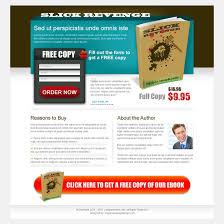 ebook free copy lead capture squeeze page design