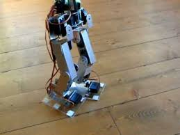 build own biped robot without a kit using arduino youtube