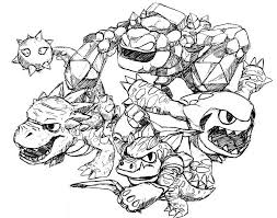 printable skylander giants coloring pages coloring me