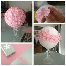 baby girl shower centerpieces juliana amaral projects to try babies babyshower