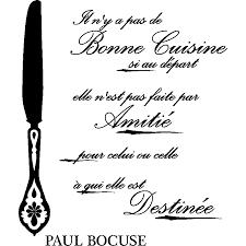 bonne cuisine sticker citation bonne cuisine si au départ paul bocuse
