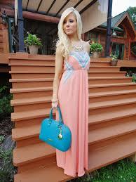 women u0027s pink maxi dress aquamarine leather tote bag light blue