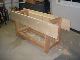 Woodworking Bench Plans Pdf by Workbench Village Custom Furniture