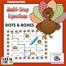 209 best thanksgiving math activities images on math