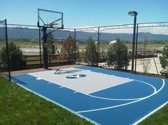Half Court Basketball Dimensions For A Backyard by 20 X 25 Dimensions Of Backyard Basketball Half Court Google