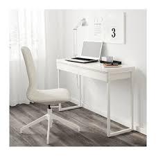 White High Gloss Computer Desk Bestå Burs Desk High Gloss White 120x40 Cm Ikea
