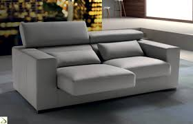 divano on line linear sofa clint with 2 3 or 4 seats arredo design