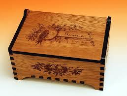 personalized wooden jewelry box custom wooden jewelry box antique bird design laser cut