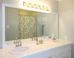 Frame Bathroom Mirrors Bathroom Mirror White Frame House Decorations