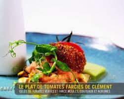 cuisiner tomates vertes recette gelée de tomates vertes farce aux moules couteaux et agrumes