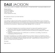 inspirational substance abuse counselor cover letter sample 18