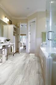 atlanta vinyl plank flooring bathroom contemporary with glass shade