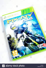 mx vs atv motocross mx vs atv alive new motocross game xbox 360 stock photo