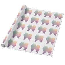 american eskimo dog nz american eskimo dog wrapping paper zazzle co nz