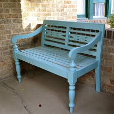 Designer Wooden Benches Outdoor by Painted Wooden Benches 15 Design Images With Painted Wood Bench