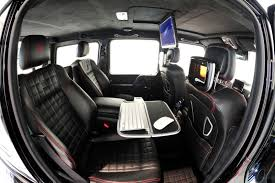 mercedes benz g class 6x6 interior mercedes benz g class is now completely apple thanks to brabus