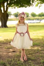 the olivia by annie shaye collection ivory flower dress