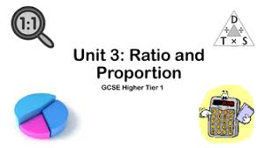 gcse higher revision 3 1 ratio by finbutler999 teaching