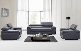 soho living room set grey leather buy at best price sohomod