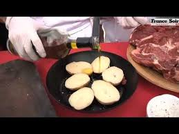 comment cuisiner basse cote de boeuf recette basse côte de bœuf façon rossini sauce à l ail