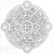 goosebumps coloring pages celtic mandala coloring pages