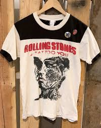 rolling stones tattoo you pins white blk