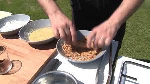 cuisine des sables voiron recette de l asperge blanche des sables des landes panées