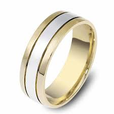 gold wedding rings for men men s gold wedding band 6mm wide brushed flat 10k mens gold