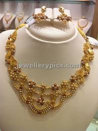 light weight gold necklace designs light weight gold necklace sets by nalli latest jewellery designs