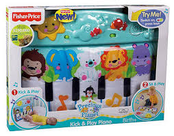 baby crib lights toys fisher price precious planet kick and play piano baby crib toy