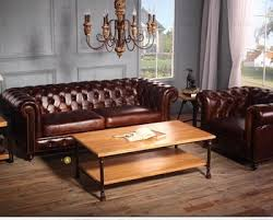 Chesterfield Sofa History Leather Couch Living Room Furniture Latest Design 2016