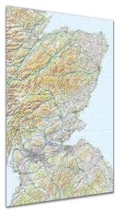 Map Poster Map Poster Gb Regional Map Scotland Southeast From Love Maps