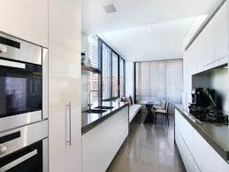 Best Galley Kitchens Kitchen Galley Kitchens With Island White Cabinet Drawers