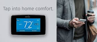emerson emerson sensi touch wi fi thermostat with touchscreen