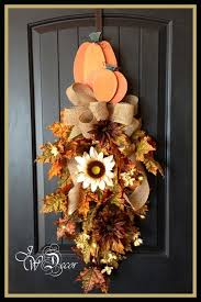 194 best fall swags images on fall swags thanksgiving