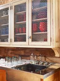 Chicken Wire Cabinet Doors A Barn Kitchen Makeover Chicken Wire Barn And Kitchens