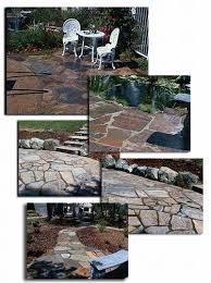 flat rock flagstones for landscaping vic hannan landscape materials