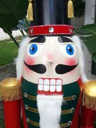 Nutcracker Christmas Decorations To Make by Diy Life Size Nutcracker On A Budget Planters Pots Pvc Pipe