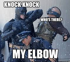 Batman Funny Meme - batman thinks hes so funny memes quickmeme