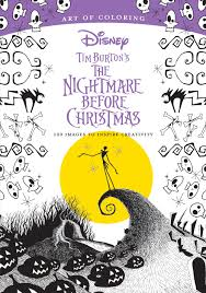 item of the day this nightmare before christmas coloring book is